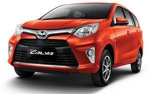 Toyota Calya tampak depan